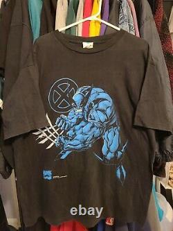 1995 WOLVERINE X-MEN Vintage Classic Heroes Rare Authentic size XL