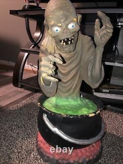 1997 crypt keeper vintage halloween blow mold morbid rare Gemmy Trendmasters