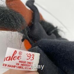ANNALEE Dolls RARE Halloween Headless Horseman 1993 Excellent Cond Horse Pumpkin
