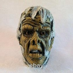 Don Post Studios Rare 1977 Mummy Halloween Rubber Mask Vintage Zombie Ghoul