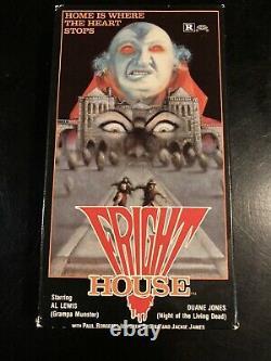 FRIGHT HOUSE Vhs Horror Vintage Cult Rare Gore Al Lewis Halloween