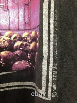 Grateful Dead 1990 GDM Vintage Shirt Stanley Mouse Rare XL Brockum Original