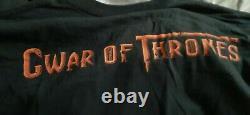 Gwar T Shirt SDCC Exclusive 1/200 Heavy Metal Slave Pit Vintage XL Very Rare