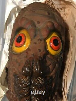 Halloween Vintage Don Post 90s Mole Man Rare Mask Tagged NOS Mint Mole People