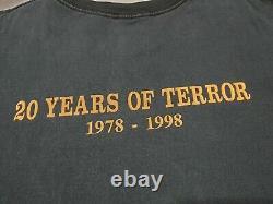 Halloween horror movie T-shirt vintage rare Michael Myers, John Carpenter XL