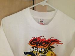 Marvel Comics 1992 Vintage Shirt GHOST RIDER MT575 Comic Images NWOT RARE MCU
