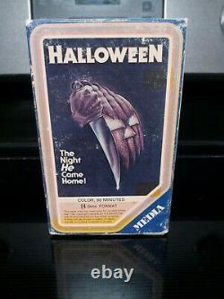 Original Vintage Halloween 1978 BETA Movie (NOT VHS) RARE HORROR Betamax Media