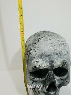 RARE! Don Post Skull Vintage Vinyl Mask 70s Great Shape