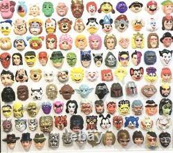 RARE Plastic Mask Halloween Vtg Collegeville 1985 GPK GARBAGE PAIL KIDS Official