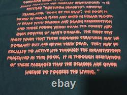 RARE The Evil Dead T-Shirt Horror Halloween Sam Raimi Movie Bruce Campbell XL