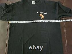 RARE Vintage 90s Halloween Michael Myers 2 Sided Movie Promo T-Shirt