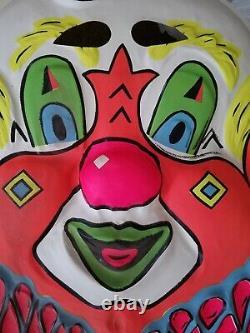 RARE Vintage GIANT 19 1/2 X 24 Halloween Mask store display
