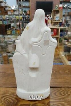 RARE Vintage Grim Reaper Halloween Blow Mold tabletop skeleton General Foam