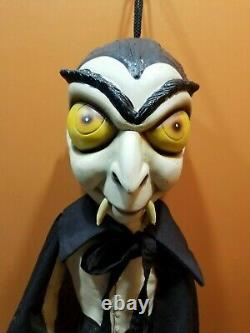 RARE Vintage PMG Witch Vampire Dracula Rubber Latex Halloween Prop Decor Lot Set
