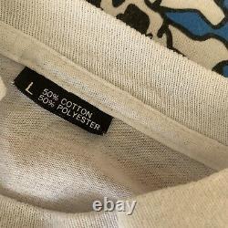 RARE! Vintage single stitch Dead Brew t shirt Size Large Size 27 X 19 1/2