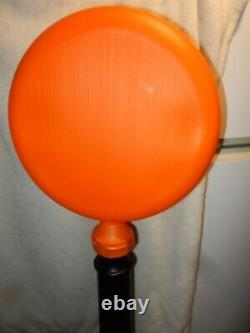 RARE Vtg 1991 Union Halloween Witch Lighted Blow Mold Lollipop Lamp Post MINT
