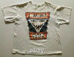 Rare FRED BABB T Shirt XL 1990s I Might Play a Trick HALLOWEEN T 100% Cotton