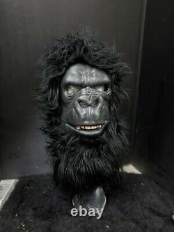 Rare Frank Coffman Gorilla vintage halloween mask