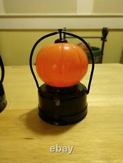 Rare Halloween antique vintage pumpkin jack o lanterns