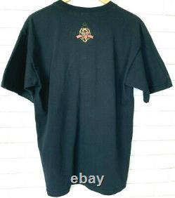 Rare VTG L DISNEY World Villains T Shirt 90s Cruella de Vil Scar Chernabog HTF