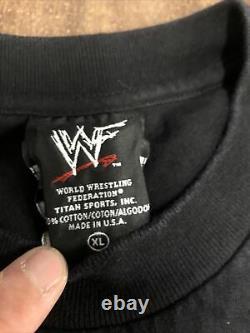 Rare Vintage 1999 WWF Mick Foley Wrestling Shirt Wwe Ecw Wcw Dude Love Mankind