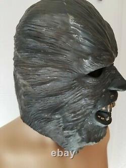 Rare Vintage Don Post Studios 1976 Halloween Mask Thick 1970s Wolfman Werewolf