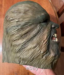 Rare Vintage Don Post Studios 1976 Wolfman Werewolf Halloween Mask Thick 1970s