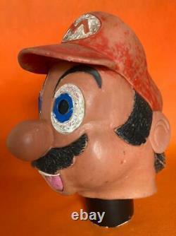 Rare Vintage Super Mario Bros Halloween Mask Freak Bootleg Made In Colombia