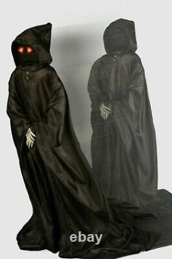 Rare Vintage Tekky Lurching Reaper Halloween Animatronic Prop Spirit Morbid