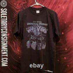 Rare Vintage Universal Studios Halloween Horror Nights Monsters T-shirt. Size M