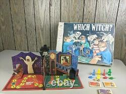 Rare Vintage Which Witch Board Game Milton Bradley 1970 Complete