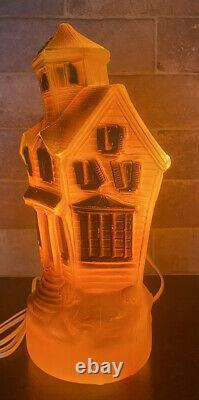 Rare Vtg Empire Halloween Haunted House 13 Blow Mold 1969