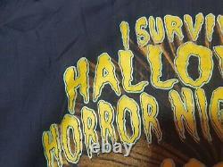 Rare vintage Halloween Horror Nights VIII 1998 Sweatshirt Universal Studios 90s