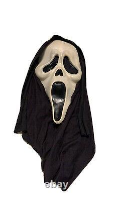 Scream Mask Fantastic Faces Vintage Rare Really Nice Collectors Mask
