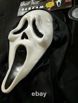 Scream Mask Reshoot Glow Tagged Td Ghostface Extremely Rare Vintage Halloween