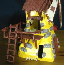 Smurfs 49020 Smurf Windmill Rare Yellow Playset Vintage Toy Lot Schleich Germany