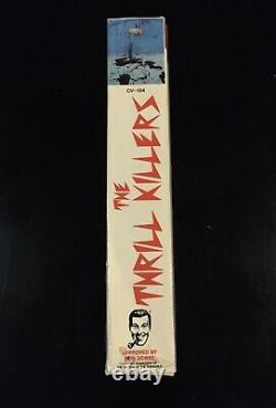 The Thrill Killers Vhs Horror Camp Video Big Box Vintage Cult Rare Gore Slasher