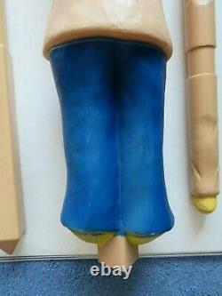 Union Products Halloween Blow Mold-1987 Scarecrow-rare Color Variation-vintage