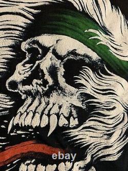 VTG SKULL Shirt metal rare 80s SCREEN STARS 50/50 Single Stitch Thrash Slayer