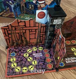 VTG Which Witch Board Game Milton Bradley 1970 100% Complete Very Rare HTF