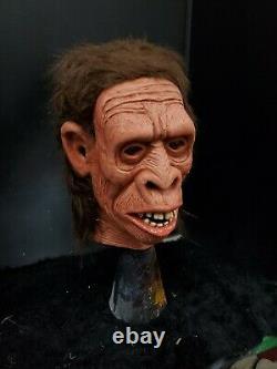Very rare Frank Coffman Neanderthal mint vintage halloween mask