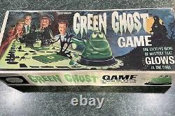 Vintage 1965 Transogram Green Ghost Glow in the Dark Game with Original Box RARE