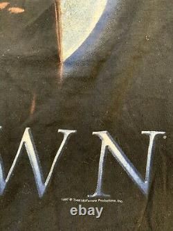 Vintage 1997 Spawn Movie Promo Adult Shirt! Size L! Super Rare! U. S. Seller
