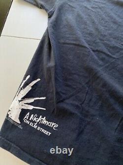 Vintage 2008 Freddy Krueger A Nightmare On Elm Street Movie Promo Shirt XL RARE