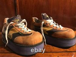 Vintage 90s SWEAR of London Rave Skateboard Shoes Platform Rare! Halloween 11