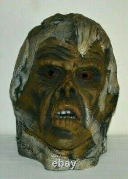 Vintage Authentic 1977 Don Post Monster Mummy used RARE Halloween Mask THICK