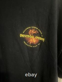 Vintage Deadstock! Halloween Horror Nights VI 96! Production Staff Rare! (XL)