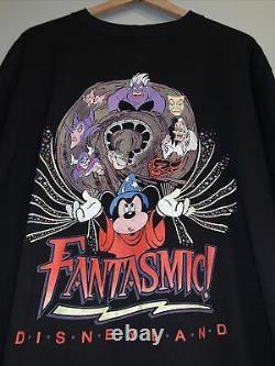 Vintage Disney Villains Shirt XL Rare Graphic Disney Designs Tag Cruela Mickey