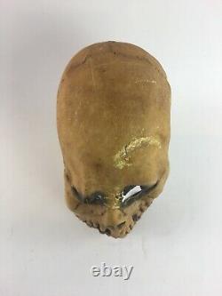 Vintage Don Post Studios Inc. 1967 Skull Face Mask Halloween Adult Size Rare
