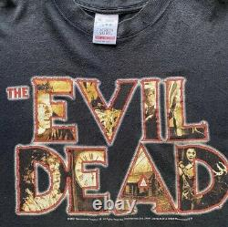 Vintage Evil Dead Long Sleeve Very Rare